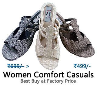 Women comfortable slippers made of fine quality jute covering upper and cusion lining for extra comfort. Embedded soft footbed adds to coziness of slipper.