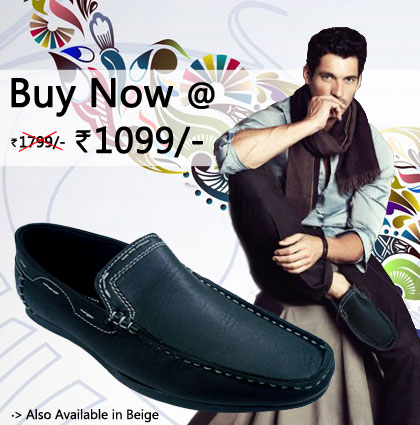 40% off on Dashing loafer Shoes for mens