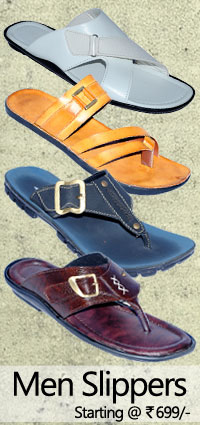 Purchase men slippers / chappals at lowest prices
