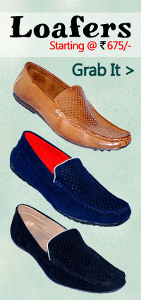 Buy Mens Loafer Shoes starting at just Rs. 699/-